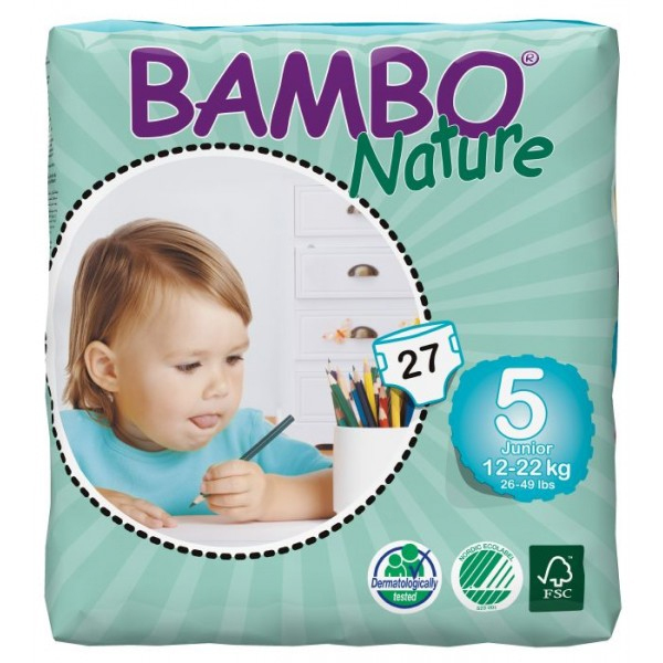 Bambo Pants Junior 12-22kg (100szt)